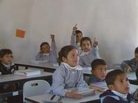 I bambini della scuola di al Khan al Ahmar