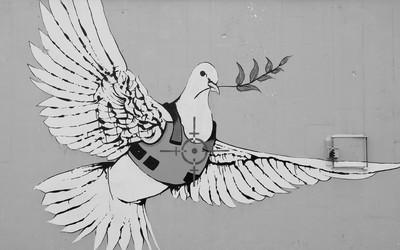 murales a betlemme