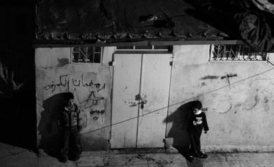 bambini palestinesi a gerusalemme