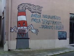 Murales a Taranto (Istituto Fermi)