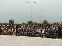 Kurdistan 2010. Halabja. I presenti alla cerimonia.