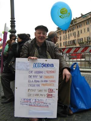 Roma sabato 20 marzo 2010 MANIFESTAZIONE NAZIONALE perché l'acqua rimanga un bene pubblico