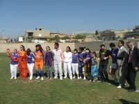 Italiani e kurdi uniti in amicizia