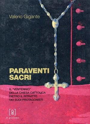 Paraventi sacri, copertina del libro