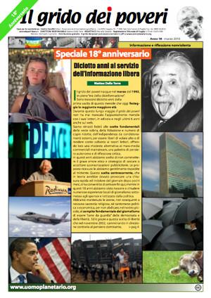 Il grido dei poveri, mensile di riflessione nonviolenta - marzo 2010