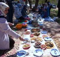 Erbil - Si prepara il pic-nic
