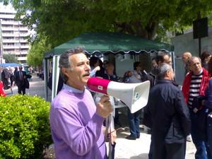 Giancarlo Girardi, di Libera. E' uno dei promotori delle iniziative ambientaliste di Altamarea