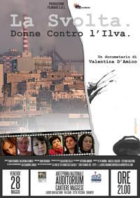 """Proiezione documentario """"La Svolta. Donne contro l'Ilva"""" a Taranto"""