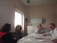 Foto 3 - Da sinistra Susanna Agostini, Akhtar Najmadeen Shamsadeen, Lorenzo Livi e Filippo Bucciarelli
