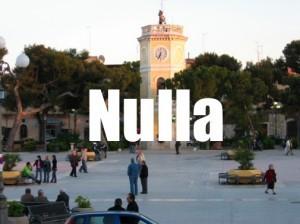 San Ferdinando di Puglia e il nulla