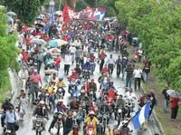 Honduras: Il popolo ha invaso le strade di tutto il paese