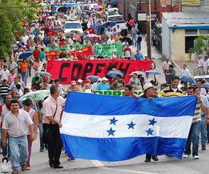 Sciopero generale indefinito in Honduras (Foto tiempo.hn)