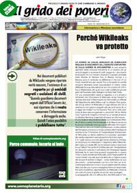IL GRIDO DEI POVERI (mensile di informazione e riflessione nonviolenta) settembre 2010