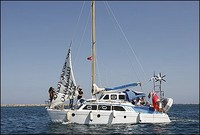 """E' salpata Irene, la nave """"ebraica"""" contro l'assedio di Gaza"""