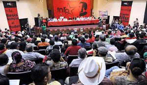 Delegati del FNRP di tutto il paese riuniti a Tegucigalpa (Foto resistenciahonduras.net)