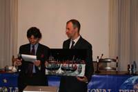 """Umberto Rondi vince il premio """"Italia diritti umani"""" 2010 della Free Lance International Press"""