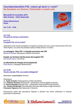 Campagna NO F35