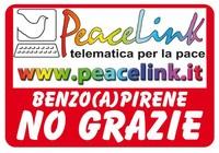 L'adesivo della campagna di PeaceLink