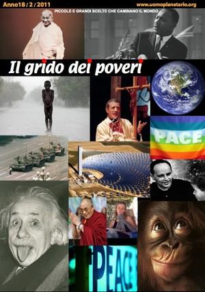 Il grido dei poveri - mensile di riflessione nonviolenta - febbraio 2011