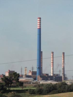 Gli impianti Ilva durante i controlli dell'ARPA Puglia. Il camino E312...(?!?!?!?)