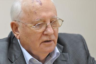Michael Sergeevich Gorbachev, ex presidente URSS e premio Nobel per la Pace