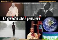 IL GRIDO DEI POVERI (mensile di informazione e riflessione nonviolenta) marzo 2011