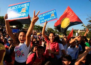 Marcha de la Alegría a Managua (Foto César Pérez/CCC)