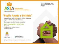 Convegno conclusivo del Progetto ASIA – Agenzie Sociali di Intermediazione Abitativa