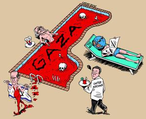 La piscina di Gaza