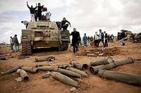 Le armi perdute di Gheddafi