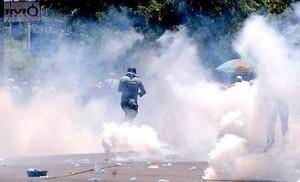 Repressione in Honduras (Foto FNRP)