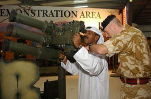 fiera delle armi di Abu Dhabi