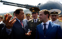 Chavez e Medvedev
