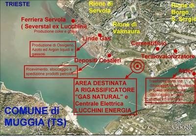 Impianti industriali pericolosi a Trieste