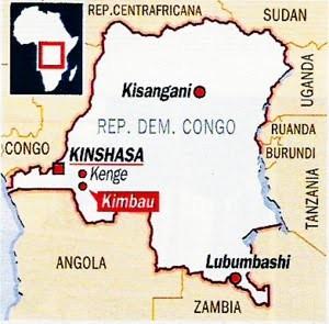 Kimbau nella Repubblica Democratica del Congo