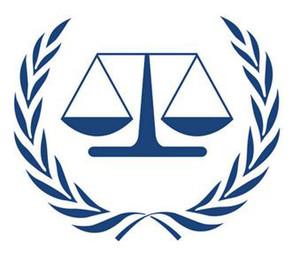 Il logo della Corte Penale Internazionale