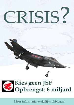 poster contro caccia F-35
