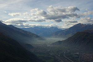 La stupenda Val di Susa dove dovrebbe passare l'alta velocità