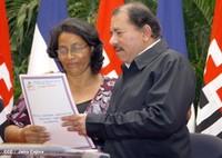 Nicaragua: Governo sandinista consegna migliaia di titoli di proprietà