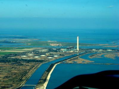 Porto Tolle. Centrale termoelettrica sul Delta del Po