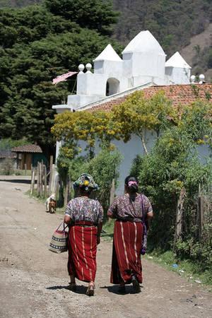 Villaggio nel distretto di Quichè (Guatemala)