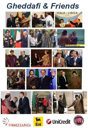 Gli amici di Gheddafi