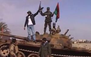 I ribelli sostenuti dalla Nato in Libia