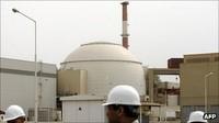 Iran : Bushehr, la prima centrale nucleare iraniana, collegata alla rete nazionale