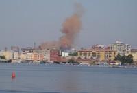 Ancora fumi rossi sulle case dove vivono i nostri bambini