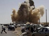guerra in Libia-bombardamenti