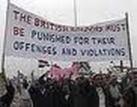 violenze esercito britannico