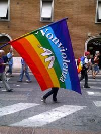 La bandiera della nonviolenza