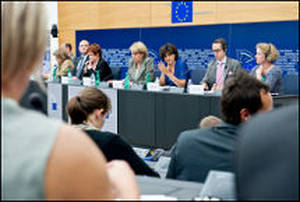Voto in commissione all'Europarlamento