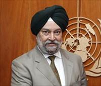 Ambasciatore Hardeep Singh Puri, Rappresentante Permanente d'India presso le Nazioni Unite di New York